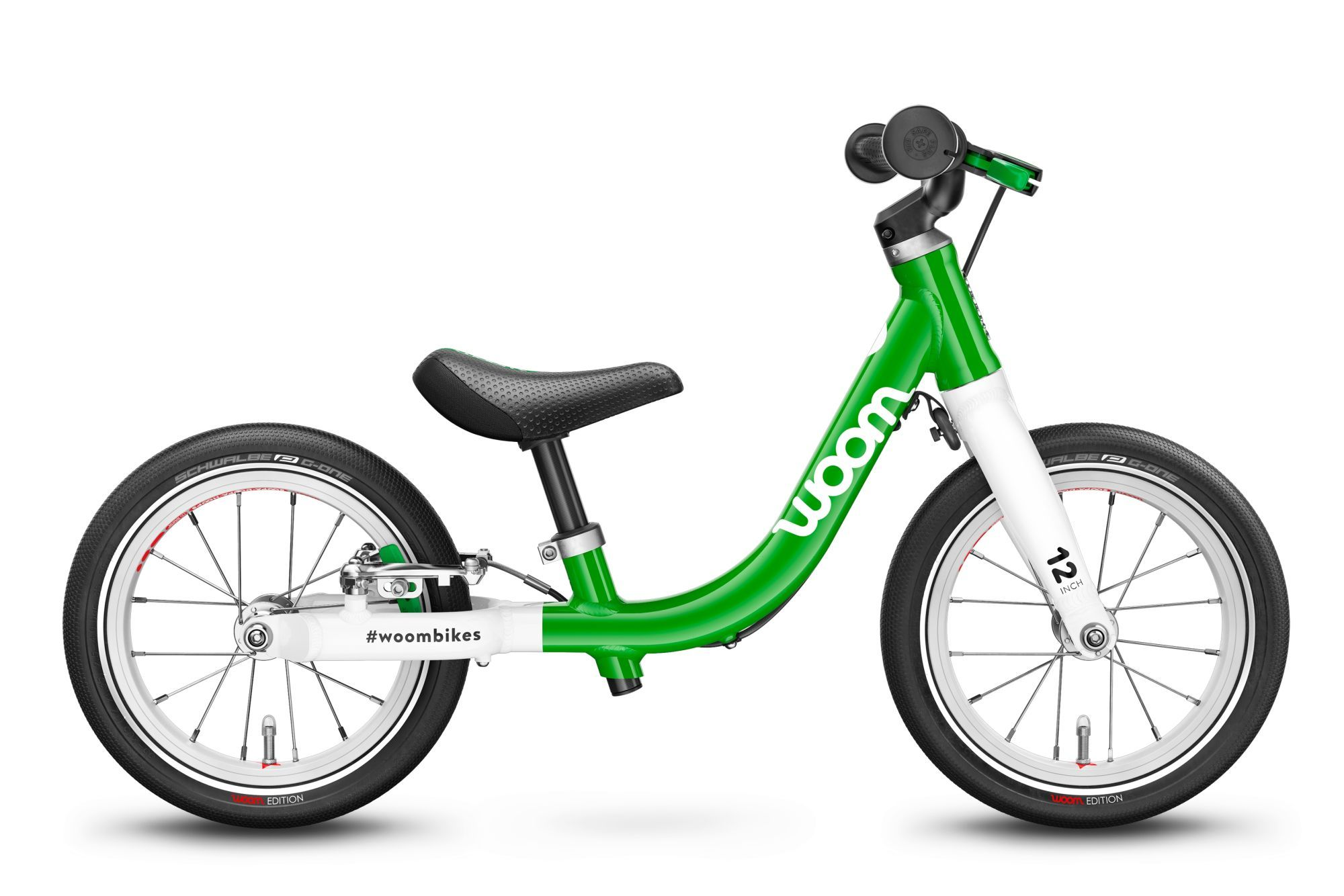 kinderfahrzeuge & laufräder: WOOM Woom 1 1 Gang Kinderlaufrad Wave Modell 2021 12 Zoll