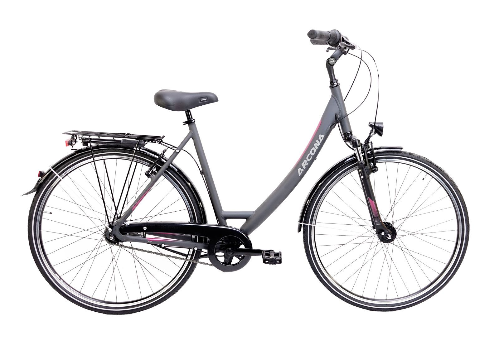 city-/tourenräder/Citybikes: ARCONA  SANTE CITY 7 Gang Nabenschaltung Damenfahrrad Wave Modell 2021 28 Zoll 55 cm raven-grey MATT