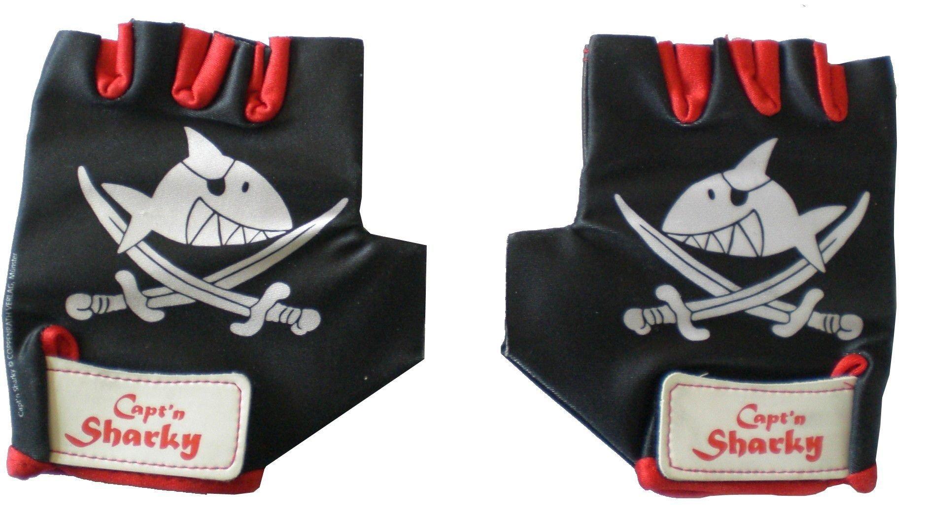Bike Fashion Handschuhe Gr. 5 Capt'n Sharky
