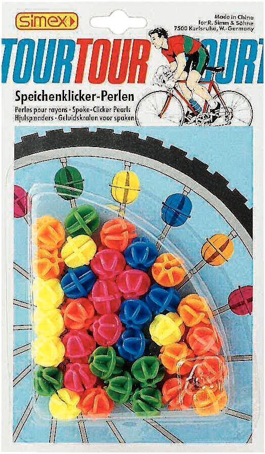 speichenklicker/Kinderartikel: SMG  Speichen-Klicker-Perlen bunt