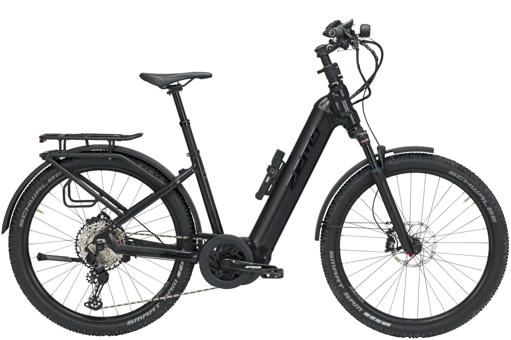E-Bikes: ZEMO  SU-E 12 Supreme (625 Wh) 12 Gang Kettenschaltung Damenfahrrad Wave Modell 2021 275 Zoll 43 cm