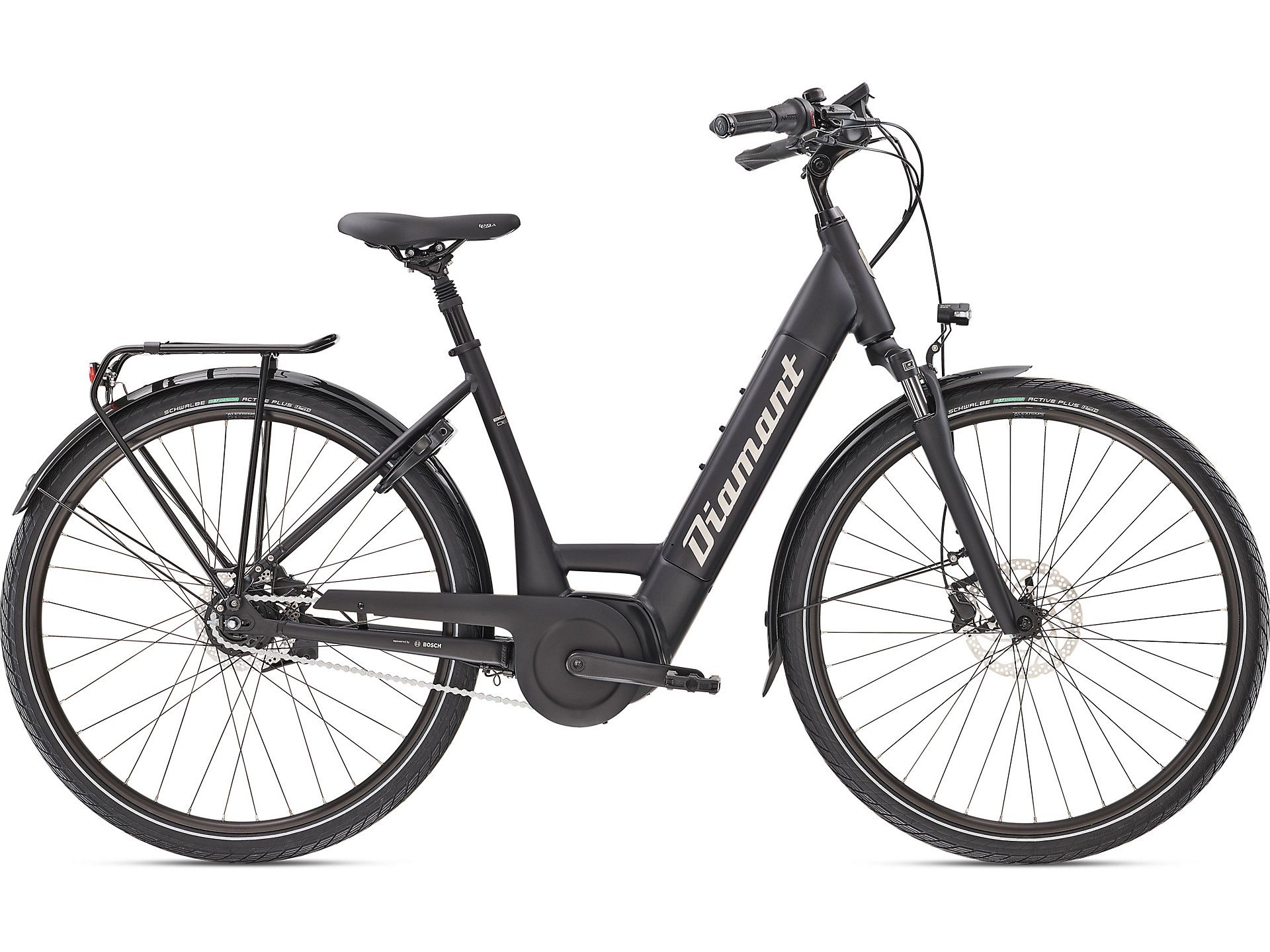 E-Bikes/Citybikes: Diamant  Beryll Deluxe+ TIE 8 Gang Nabenschaltung Damenfahrrad Wave Modell 2021 28 Zoll 44 cm Tief
