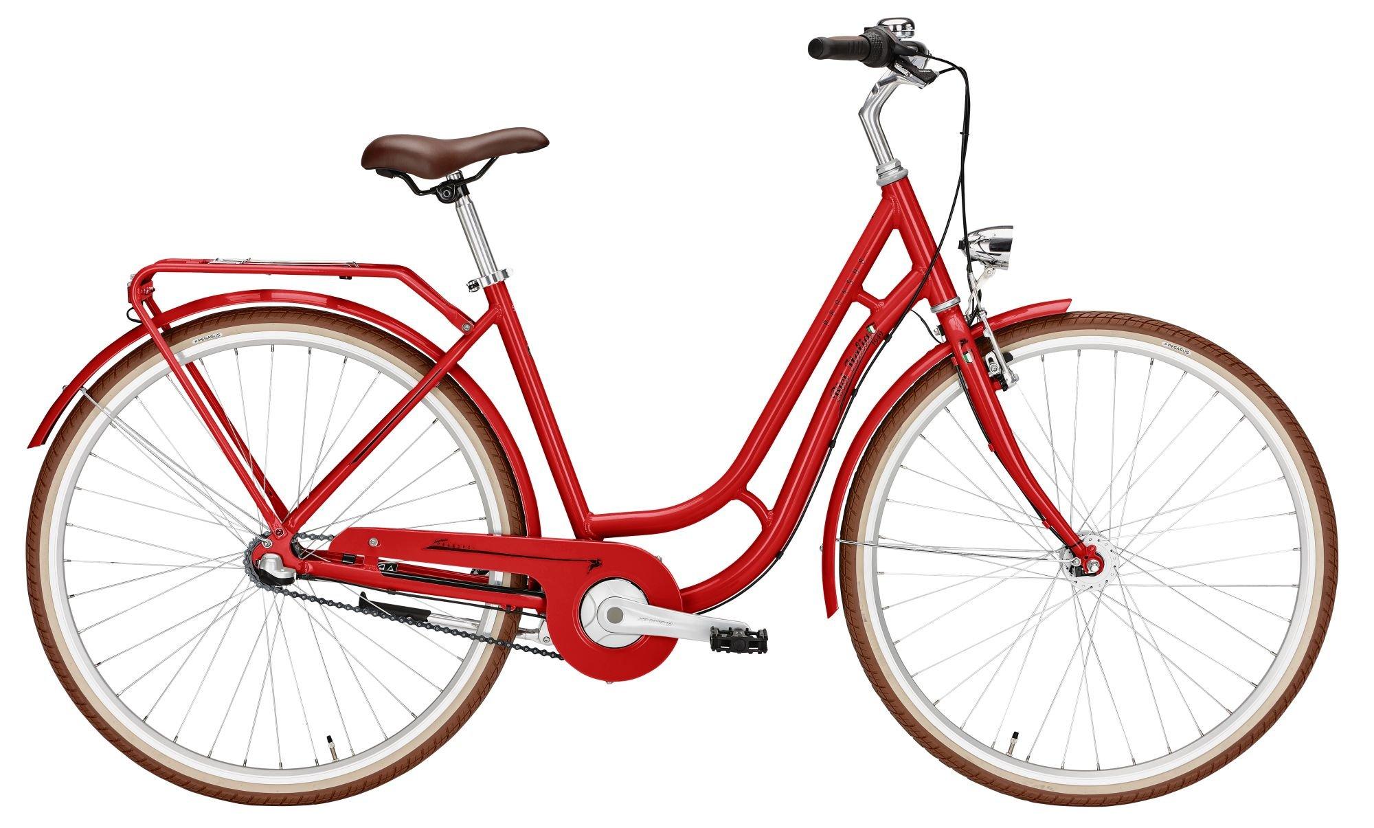Pegasus Bici Italia 3s Tour, 3 Gang Nabenschaltung, Damenfahrrad, Tiefeinsteiger, Modell 2021, 28 Zoll