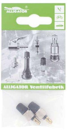 zubehör/Bereifung: Alligator  2x Blitzventile 2x Überwurfm. SB 2