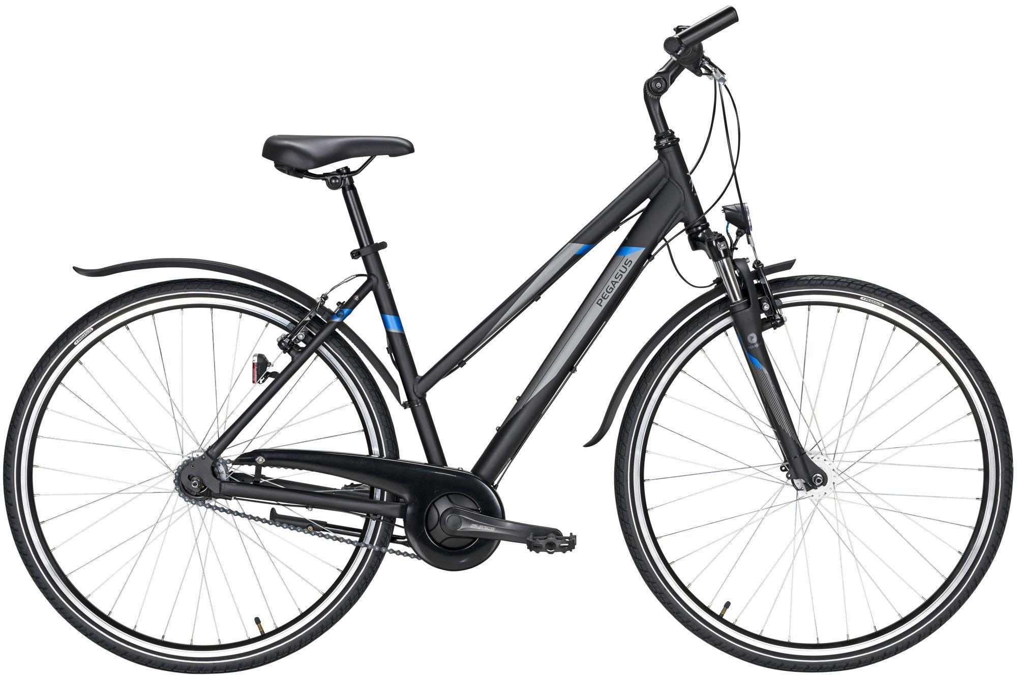 crossräder/Citybikes: Pegasus  Avanti Sport 7 7 Gang Nabenschaltung Damenfahrrad Trapez Modell 2021 28 Zoll 53 cm