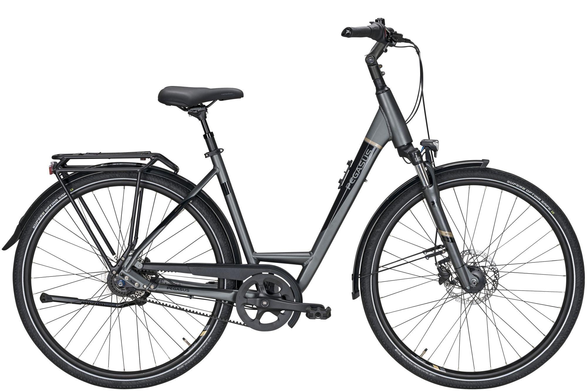 city-/tourenräder/Citybikes: Pegasus  Premio SL Belt 8 Gang Nabenschaltung mit Freilauf Damenfahrrad Wave Modell 2021 28 Zoll 55 cm