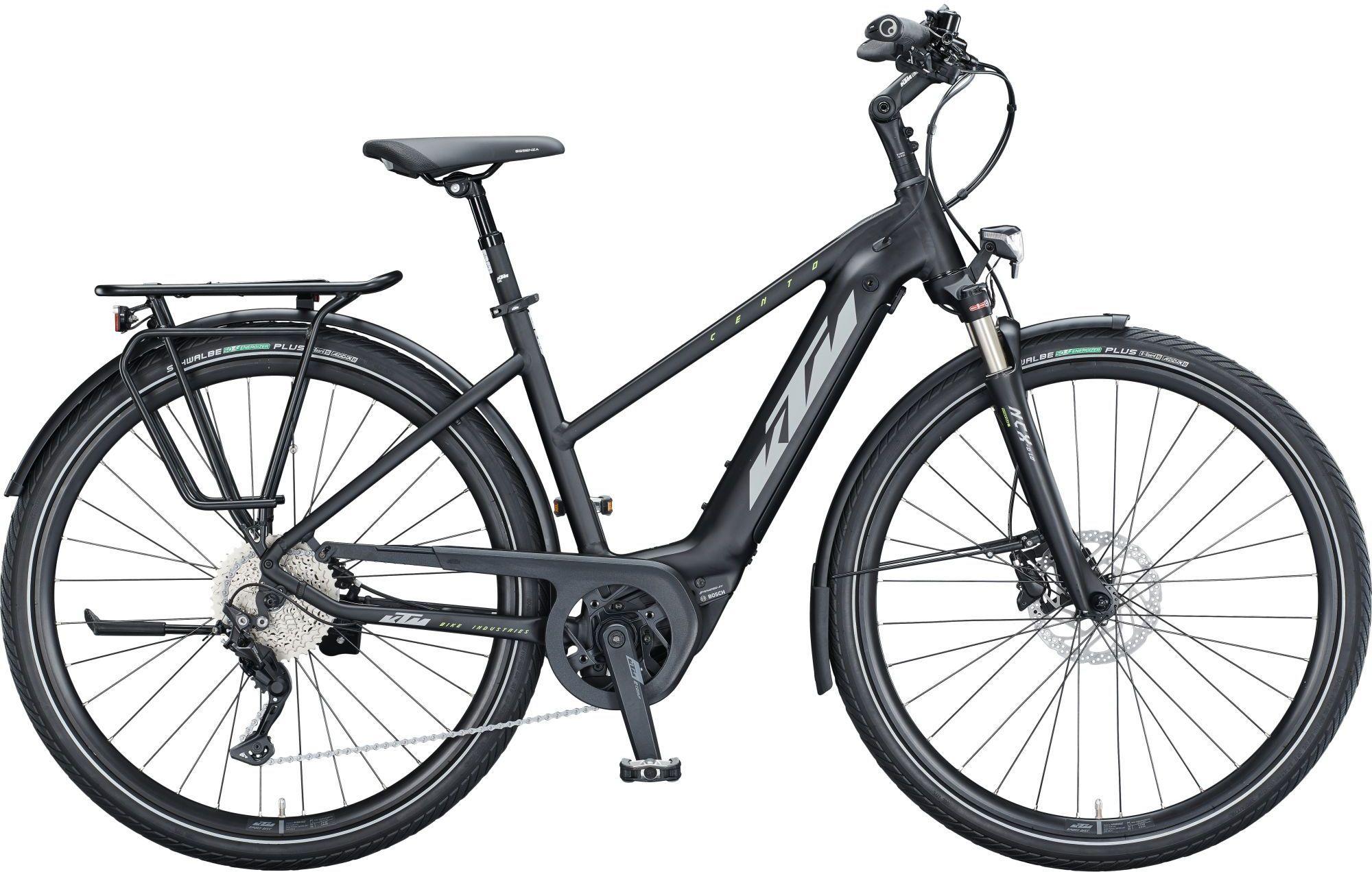 E-Bikes: KTM  CENTO 10 (500 Wh) 10 Gang Kettenschaltung Damenfahrrad Trapez Modell 2021 29 Zoll 56 cm