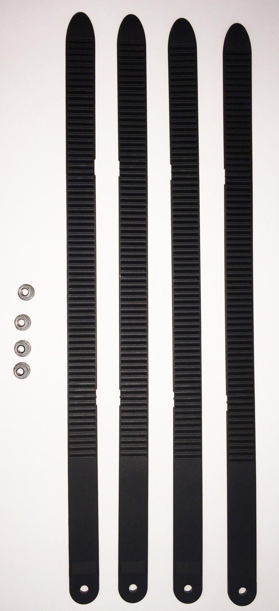 fahrradträgerzubehör: Uebler  4er Zahnbandsatz für Fatbike Transport 19870