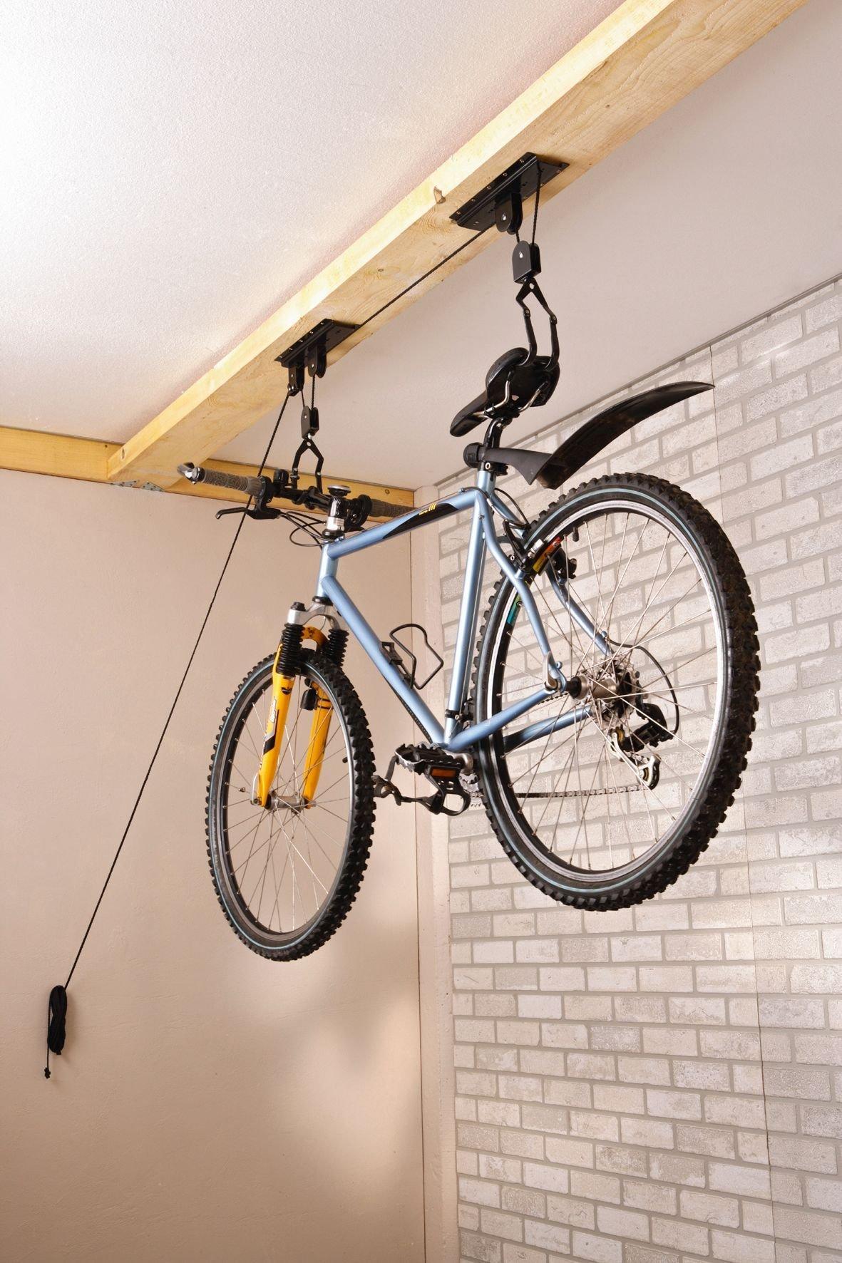 wand- & deckenhalter/Ständer: Mottez  Fahrradlift B128P bis 20 Kilogr.