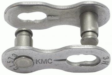 KMC Kettenschloss 7,3mm MissingLink 7/8R EPT Silver