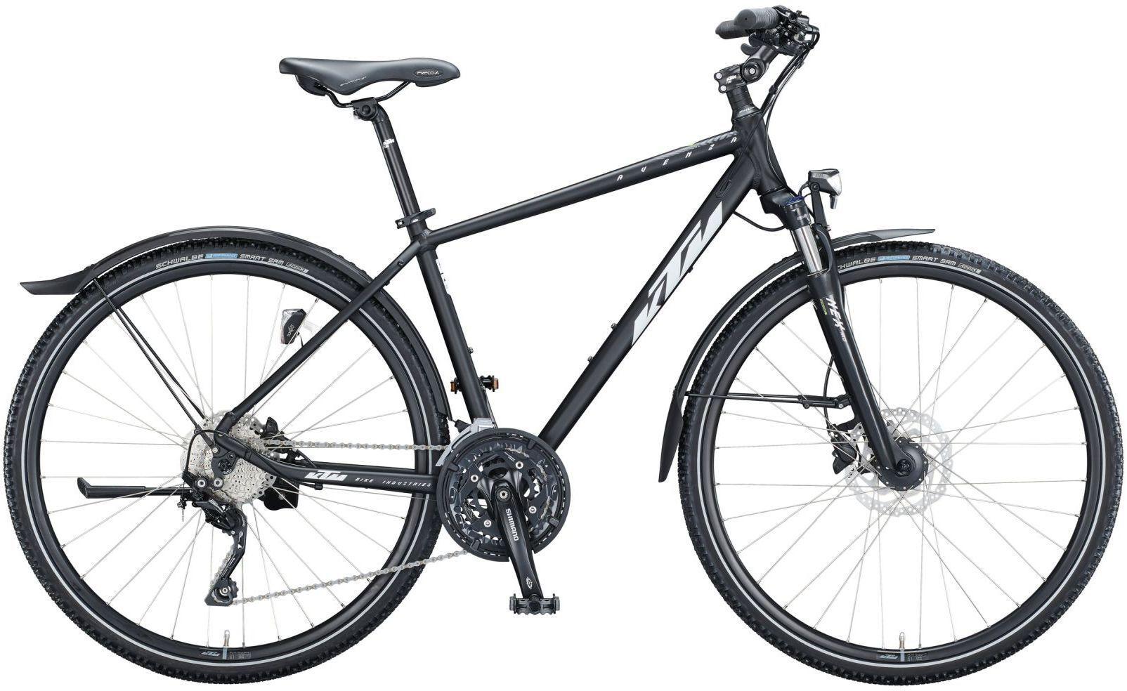 Fahrräder/Trekkingräder: KTM  AVENZA CROSS STREET 27 Gang Kettenschaltung Herrenfahrrad Diamant Modell 2021 28 Zoll 63 cm