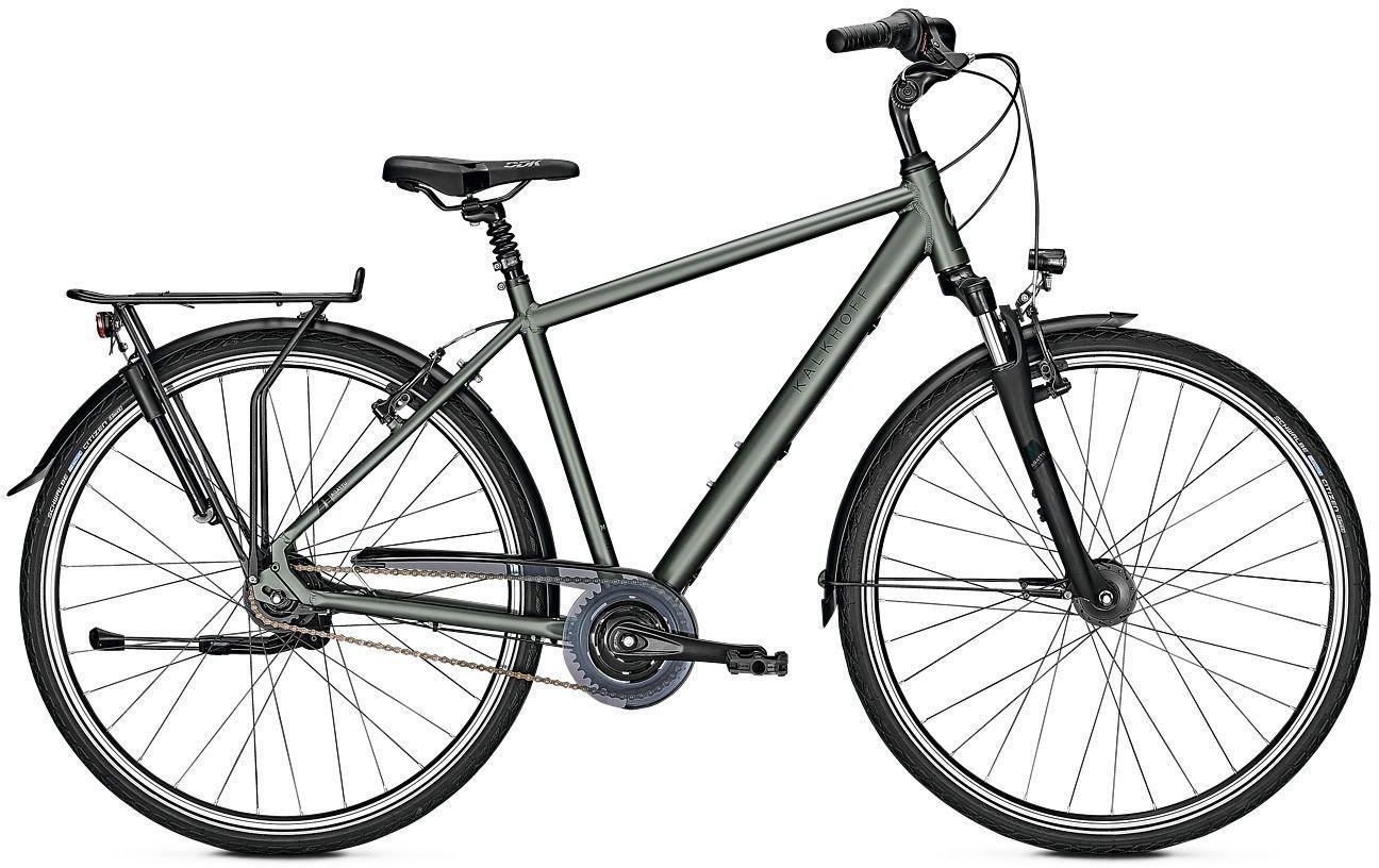 city-/tourenräder/Citybikes: Kalkhoff  AGATTU 8R 8 Gang Nabenschaltung Herrenfahrrad Diamant Modell 2021 28 Zoll 55 cm