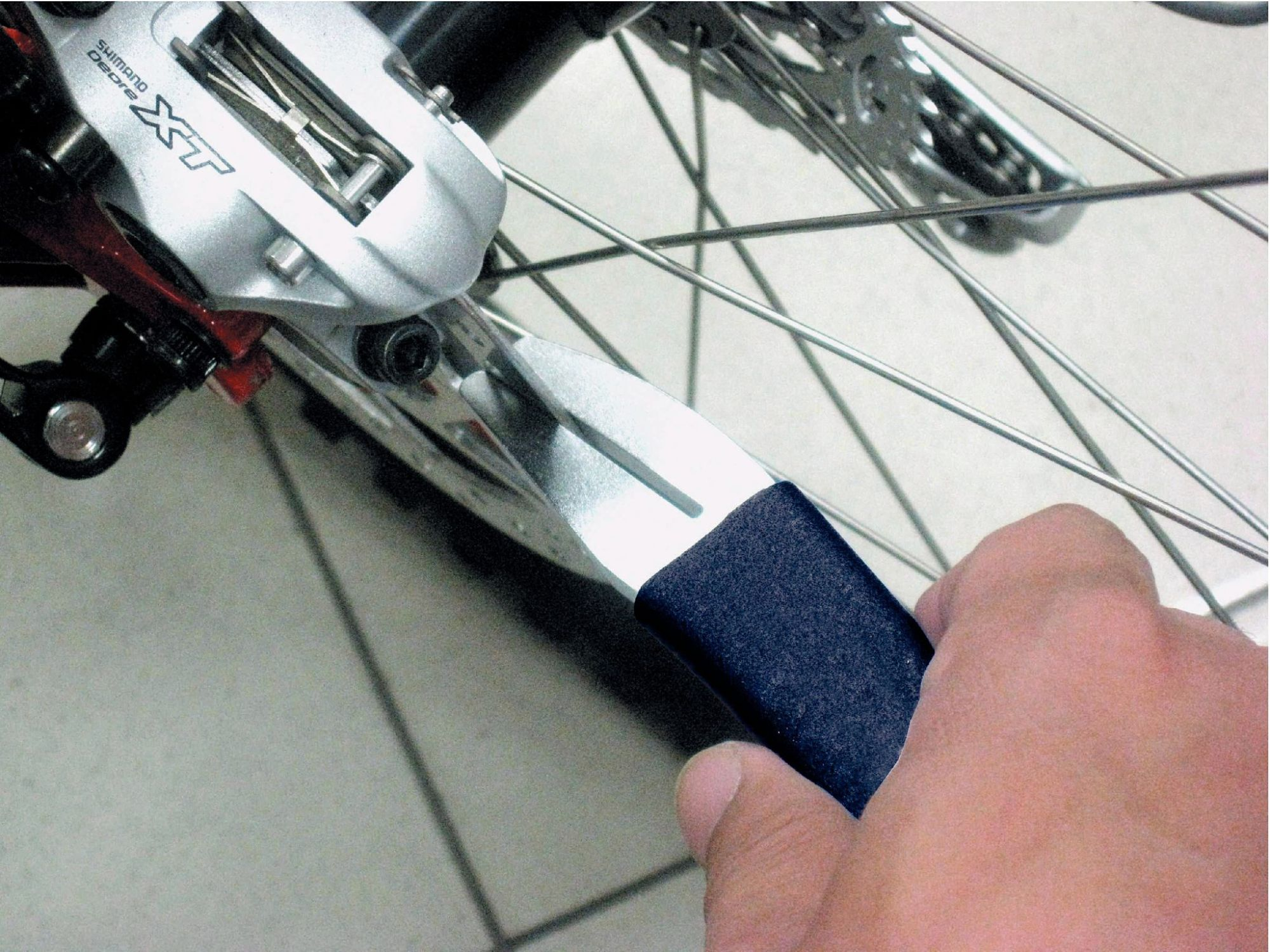 Fuxon Richtwerkzeug für Bremsscheiben