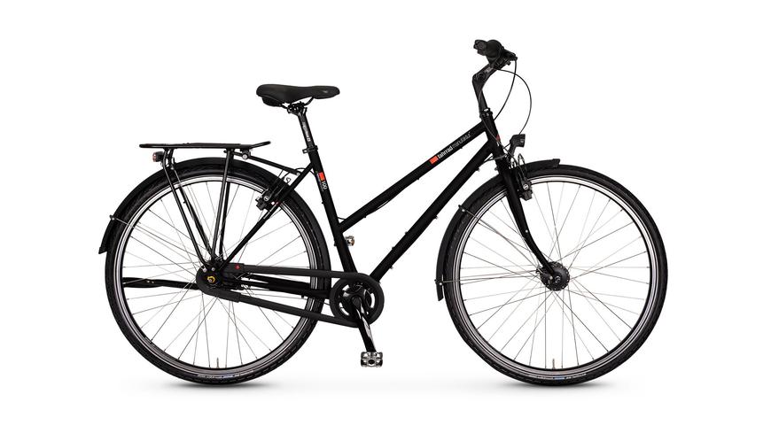 VSF Fahrradmanufaktur T-100 8-Gg HS11, 8 Gang Nabenschaltung, Damenfahrrad, Trapez, Modell 2020, 28 Zoll
