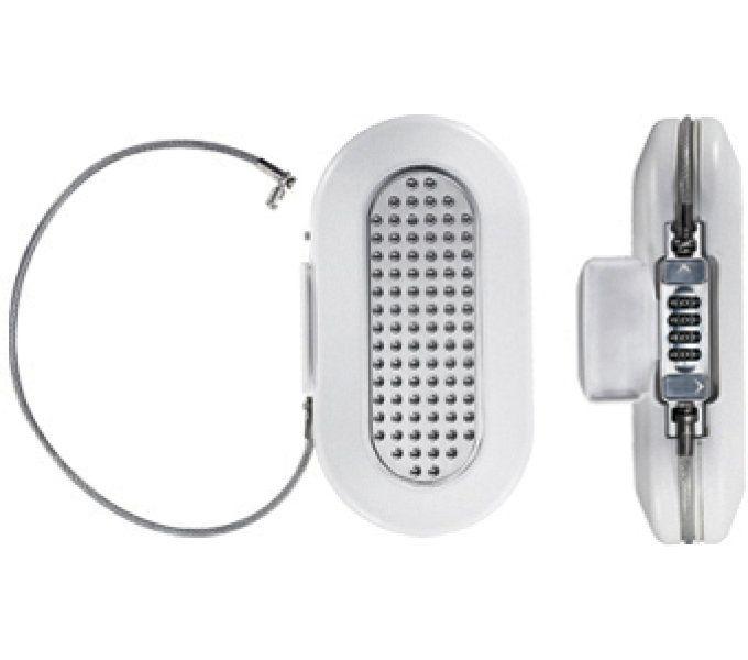 schlosszubehör/Schlösser: Master Lock  Zahlenschloss Mini Safe 5900 129 mm x 240 mm Weiß