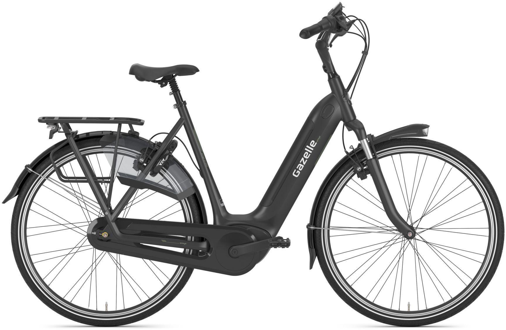 E-Bikes: Gazelle  ARROYO C7+ HMB ELITE SPEZIAL (500 Wh) 7 Gang Nabenschaltung Damenfahrrad Tiefeinsteiger Modell 2021 28 Zoll 57 cm b