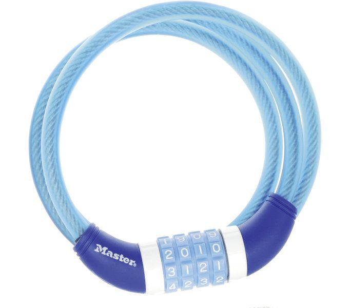 kabelschlösser/Schlösser: Master Lock  Kabelschloss 8231 10 mm x 1.200 mm Blau