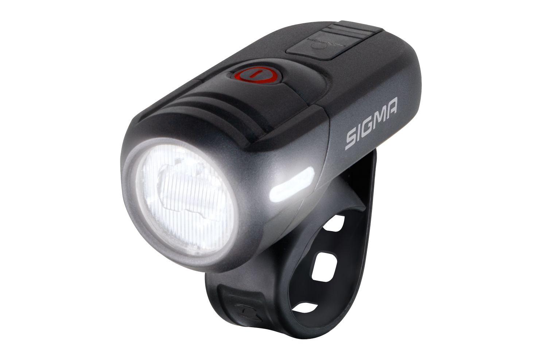 batterielicht vorne/Beleuchtung: Sigma  Batterie-Scheinwerfer Aura 45
