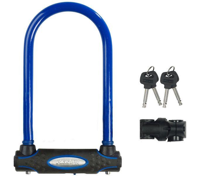 bügelschlösser/Schlösser: Master Lock  Bügelschloss 8195 13 mm x 210 mm x 110 mm Blau