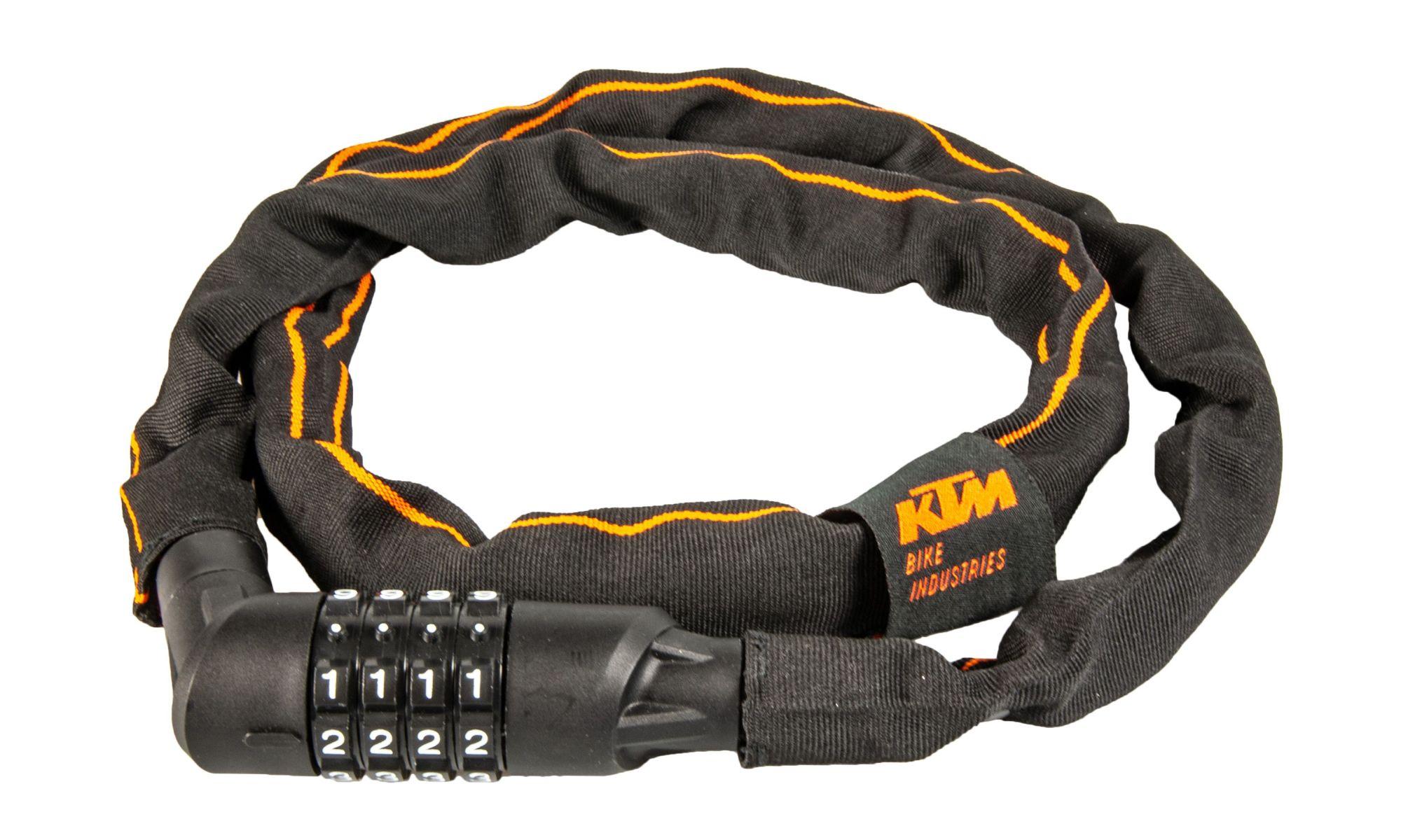 KTM Kettenschloss Pro Chain Lock Code