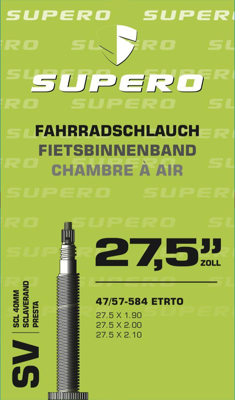 schläuche/Bereifung: Supero  Fahrradschlauch 275