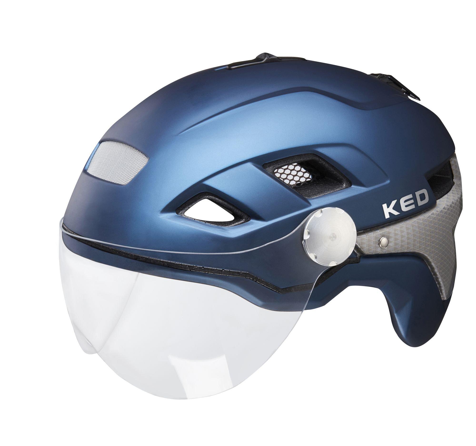 trekking- / city-helme/Helme: KED  Fahrradhelm B-Vis X-Lite 52-58 cm