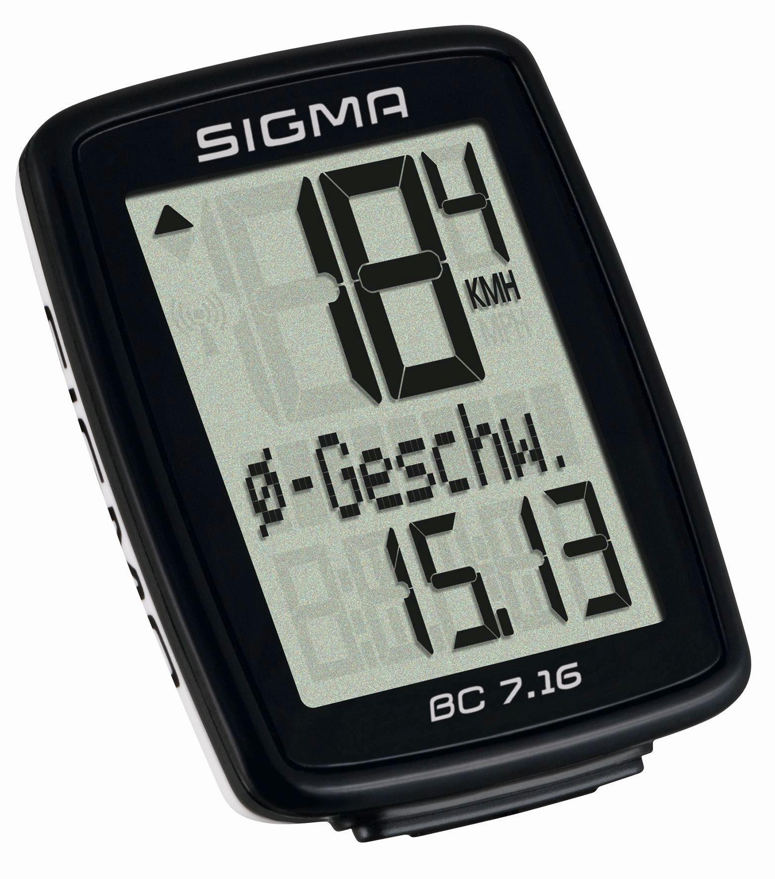 computer kabelgebunden: Sigma  BC 7.16 kabelgebundener Computer