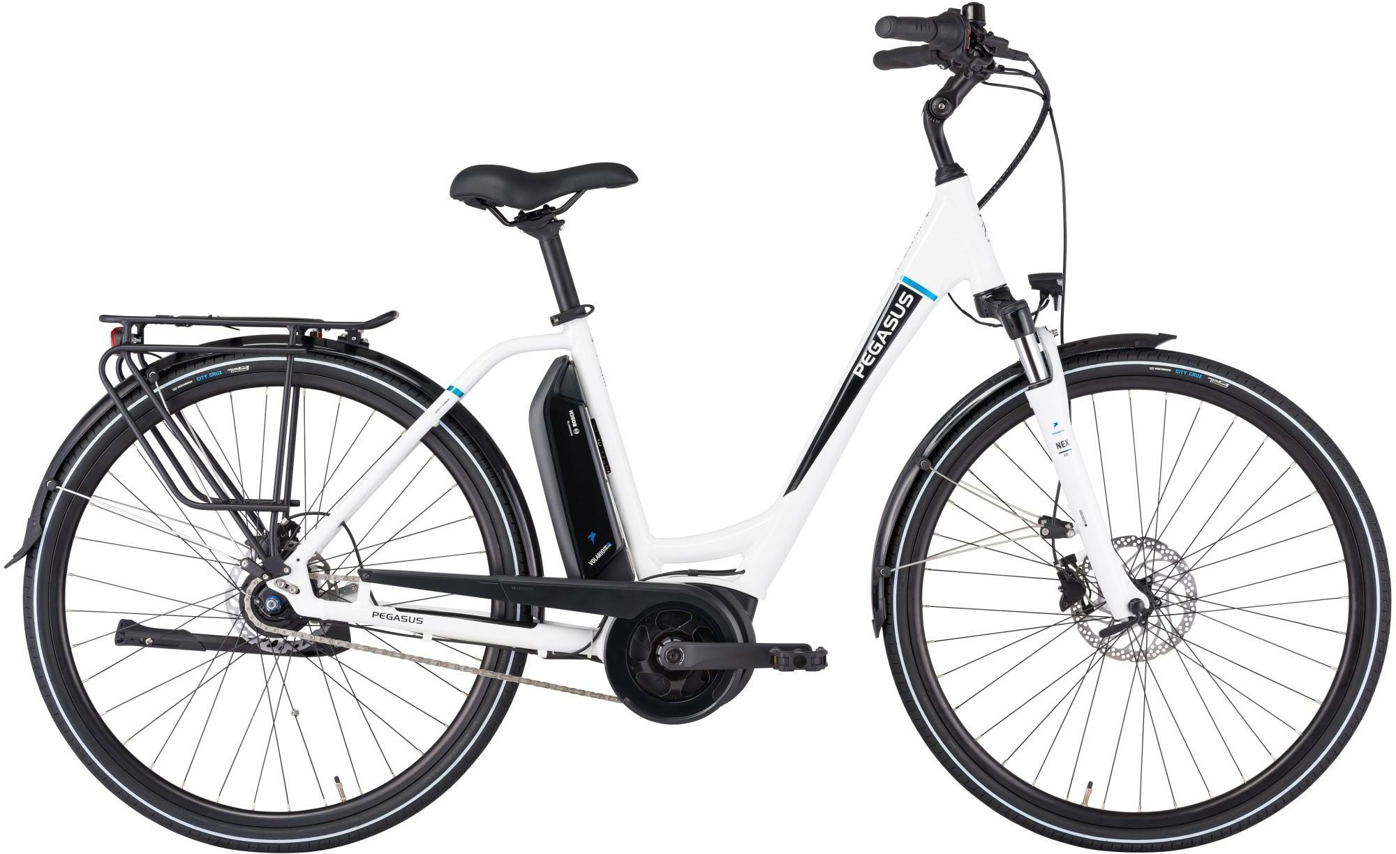 E-Bikes: Pegasus  Ancura E8R Disc (400 Wh) 8 Gang Nabenschaltung Damenfahrrad Wave Modell 2021 28 Zoll 54 cm