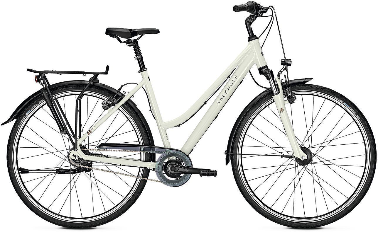 city-/tourenräder/Citybikes: Kalkhoff  AGATTU 8R HS 8 Gang Nabenschaltung Damenfahrrad Trapez Modell 2021 28 Zoll 55 cm