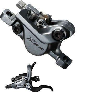 scheibenbremsen/Bremsen: Shimano  Alivio M4050 hydr. Scheibenbremse HR