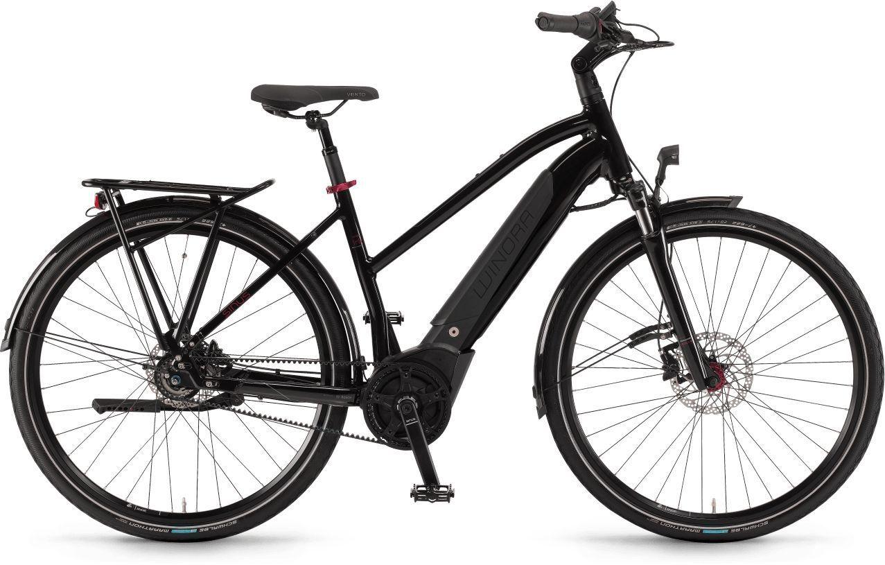 E-Bikes/Citybikes: Winora  Sinus iR8 8 Gang Nabenschaltung Damenfahrrad Trapez Modell 2021 28 Zoll 52 cm
