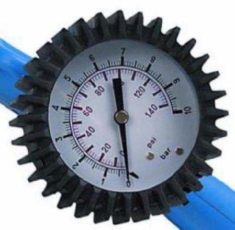 pumpenzubehör/Pumpen: Stahlgruber  Manometer für Füllpistole