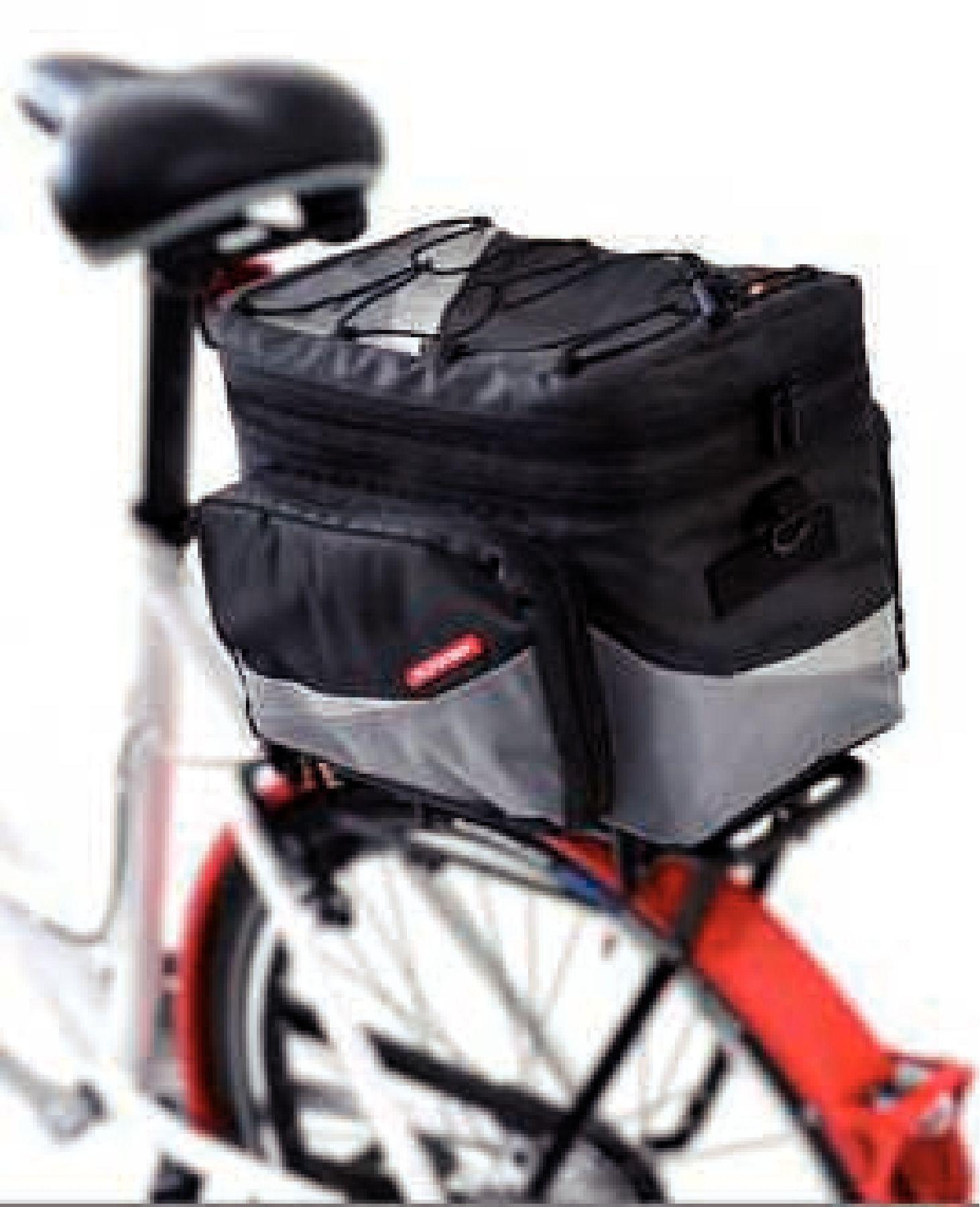Pletscher Basilea Gepäckträgertasche 24 Liter, für easy fix-System