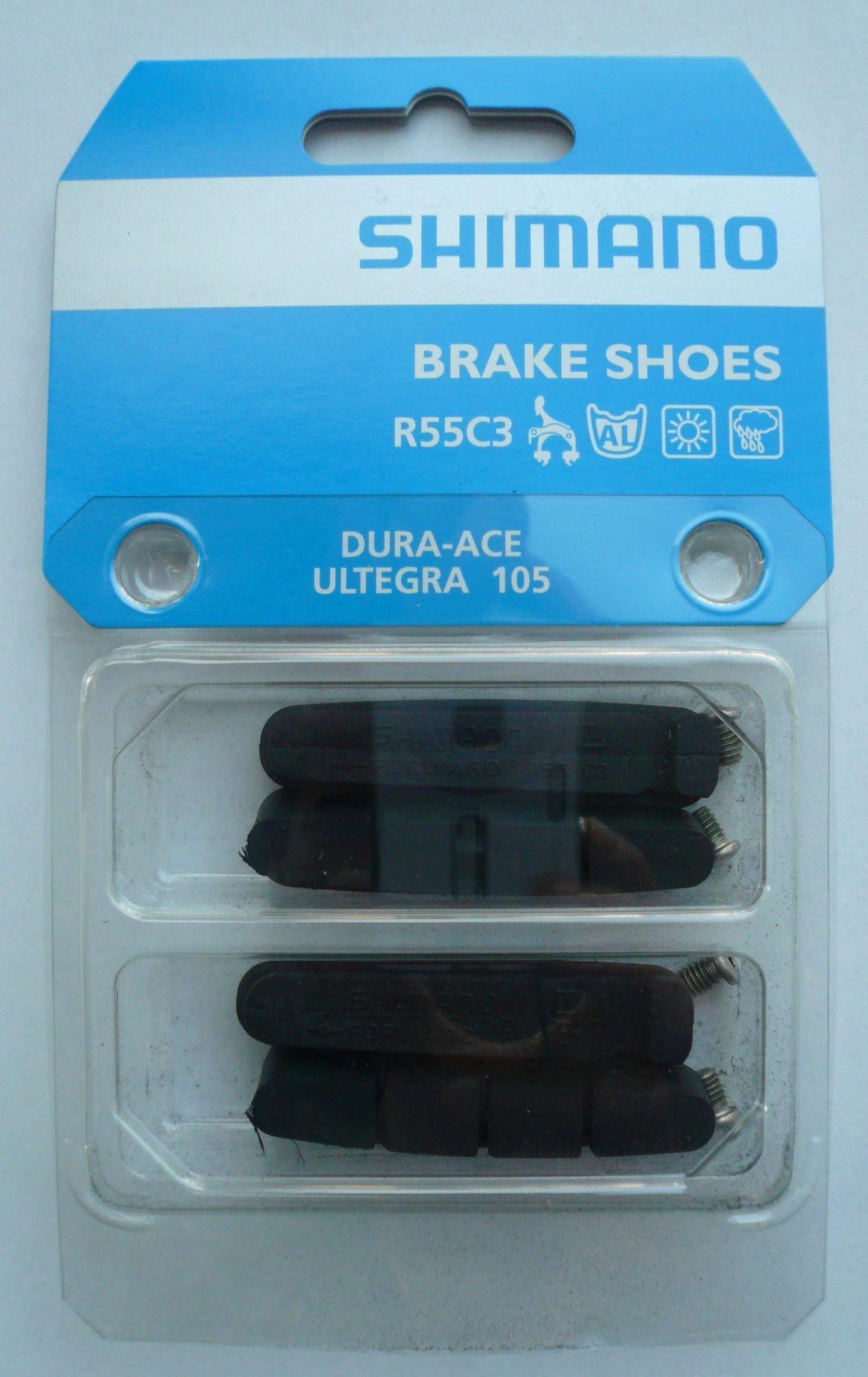 /Bremsen: Shimano  Bremsgummi R 55 C 3 R-Typ
