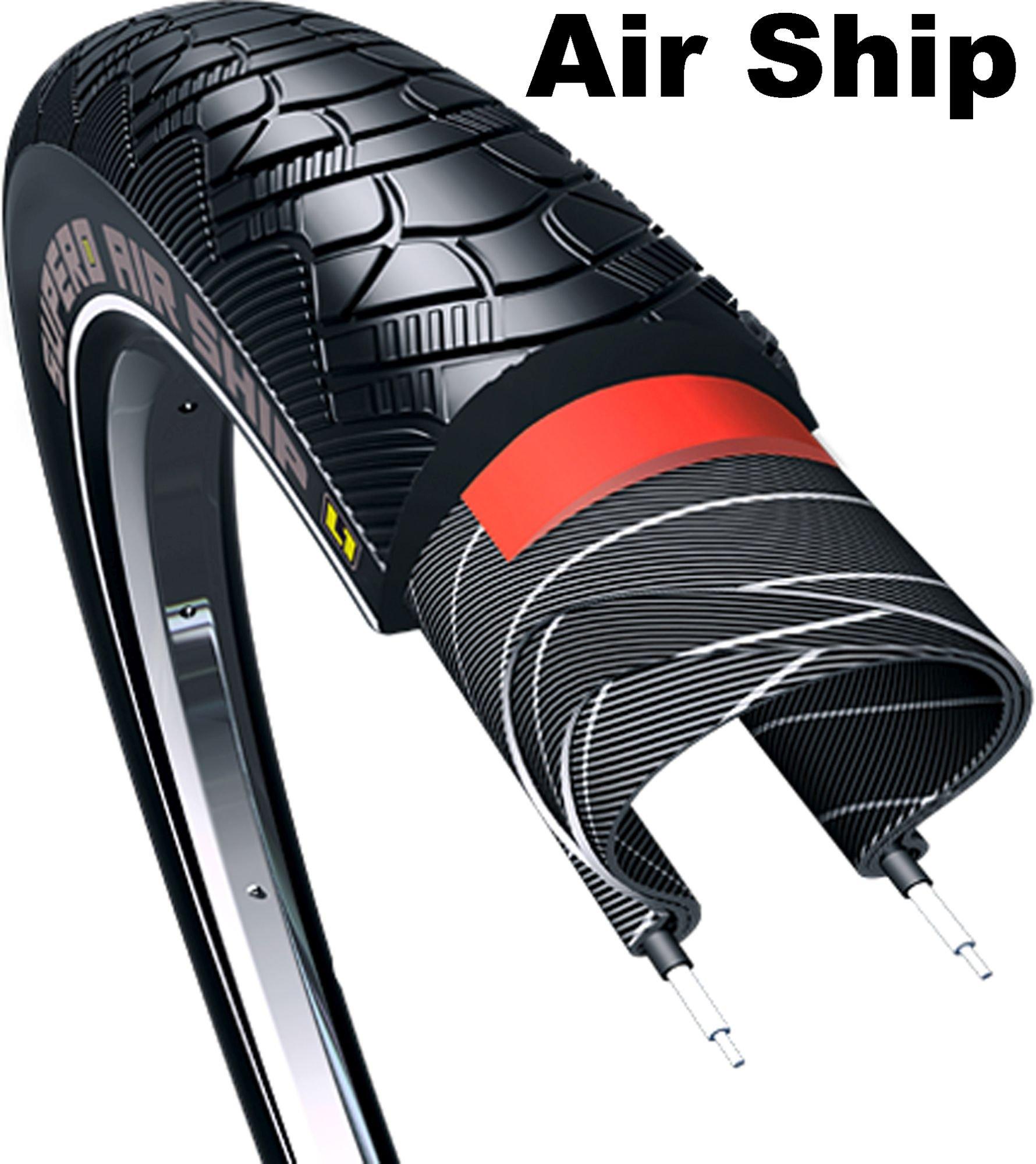 E-Bikes/Bereifung: Supero  E-Bike - Reifen - Drahtreifen- C1635 - 28 Zoll AIRSHIP (50-622)
