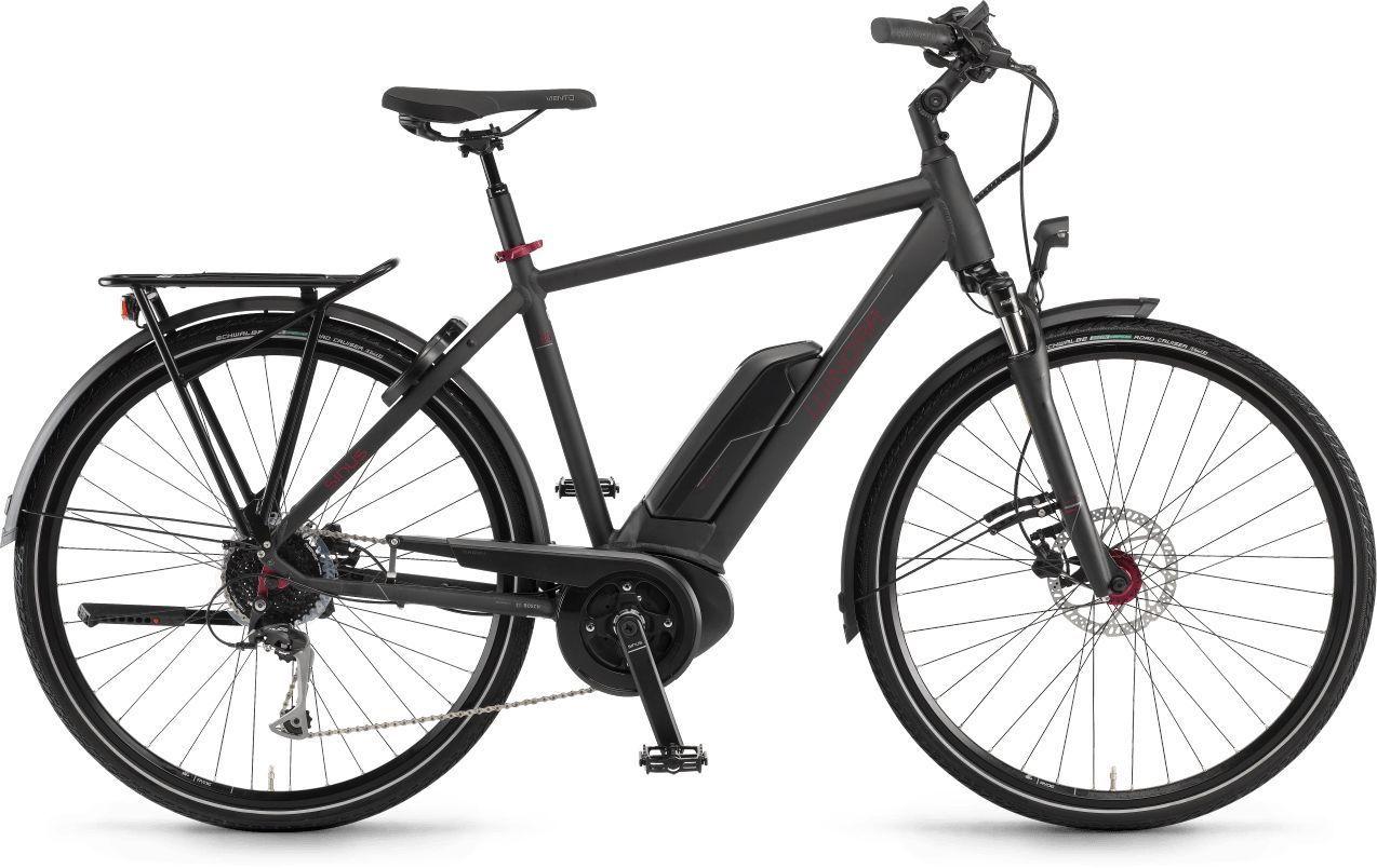 E-Bikes: Winora  Tria 9 9 Gang Kettenschaltung Herrenfahrrad Diamant Modell 2021 28 Zoll 52 cm