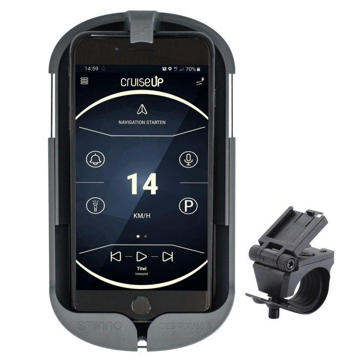kartenhalter/Lenker: SMINNO  Smartphone Case CESAcruise S grey