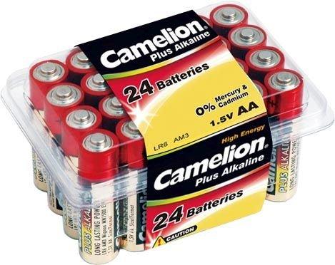 Camelion Plus Alkaline Mignon AA Box = 24 Stück