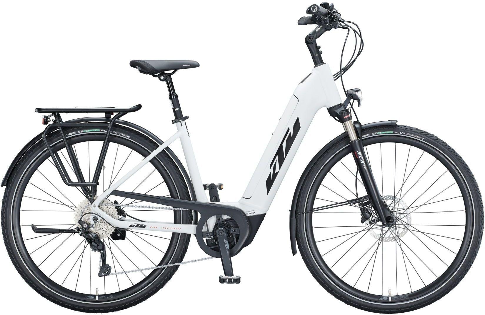 E-Bikes: KTM  CENTO 10 (500 Wh) 10 Gang Kettenschaltung Damenfahrrad Wave Modell 2021 29 Zoll 56 cm