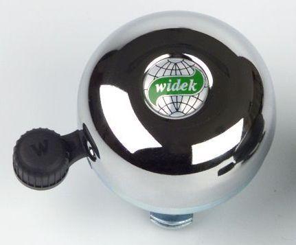 glocken & hupen/Klingeln & Hupen: Bibia Widek  Messing-Glocke Chrom