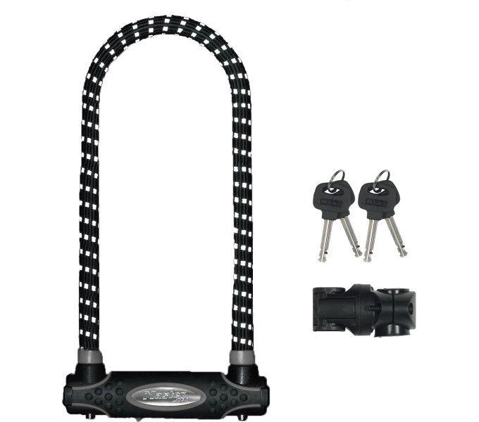 bügelschlösser/Schlösser: Master Lock  Bügelschloss 8195LW (swr) 13 mm x 280 mm x 110 mm SchwarzReflex
