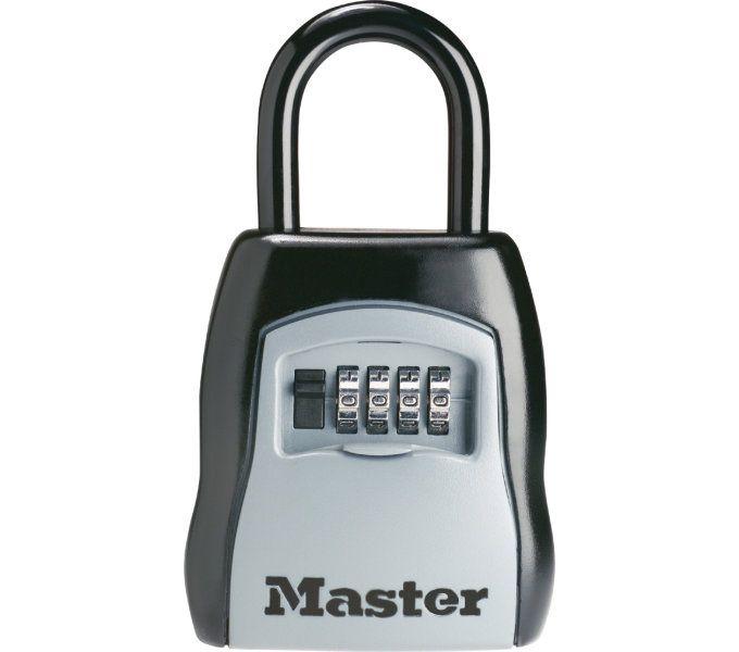 schlosszubehör/Schlösser: Master Lock  Safe-Schloss Select Access 5400 160 mm x 90 mm x 40 mm Grau