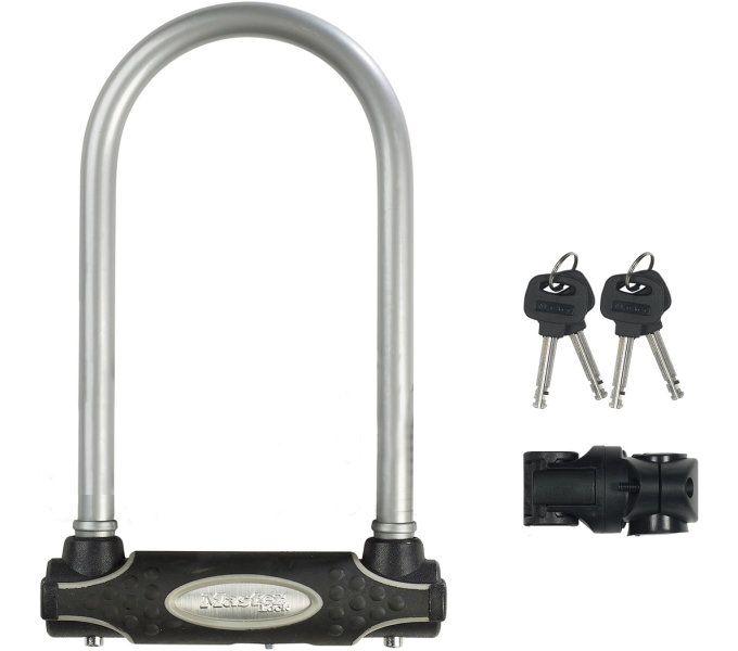 bügelschlösser/Schlösser: Master Lock  Bügelschloss 8195 13 mm x 210 mm x 110 mm Grau