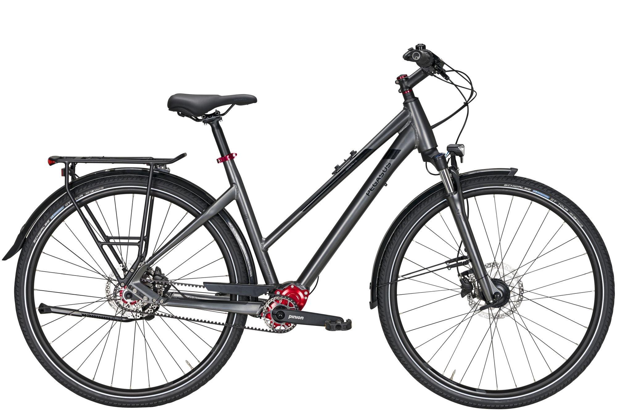 city-/tourenräder/Citybikes: Pegasus  Estremo P18 Pinion Tretlagerschaltung Damenfahrrad Trapez Modell 2021 28 Zoll 50 cm