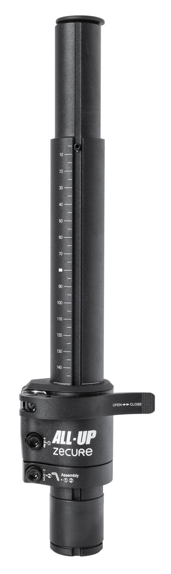 vorbauten/Vorbauten: Zecure  Gabelschaftverlängerung All-Up  SR 53 150mm