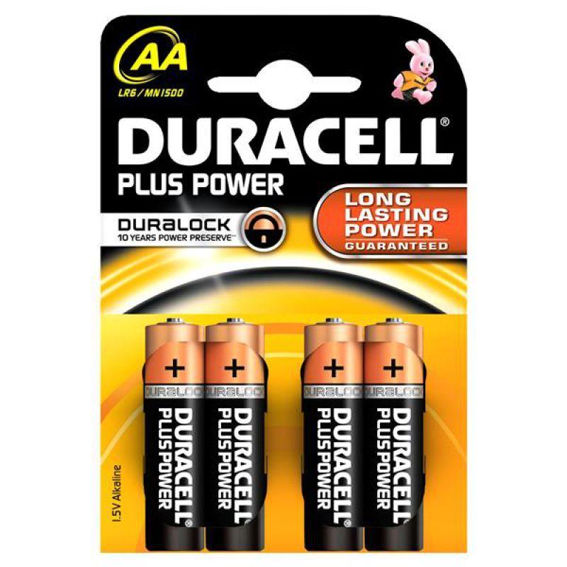 zubehör computer & pulsuhren: Duracell  Batterien Plus Mignon (AA LR6- MN1500)