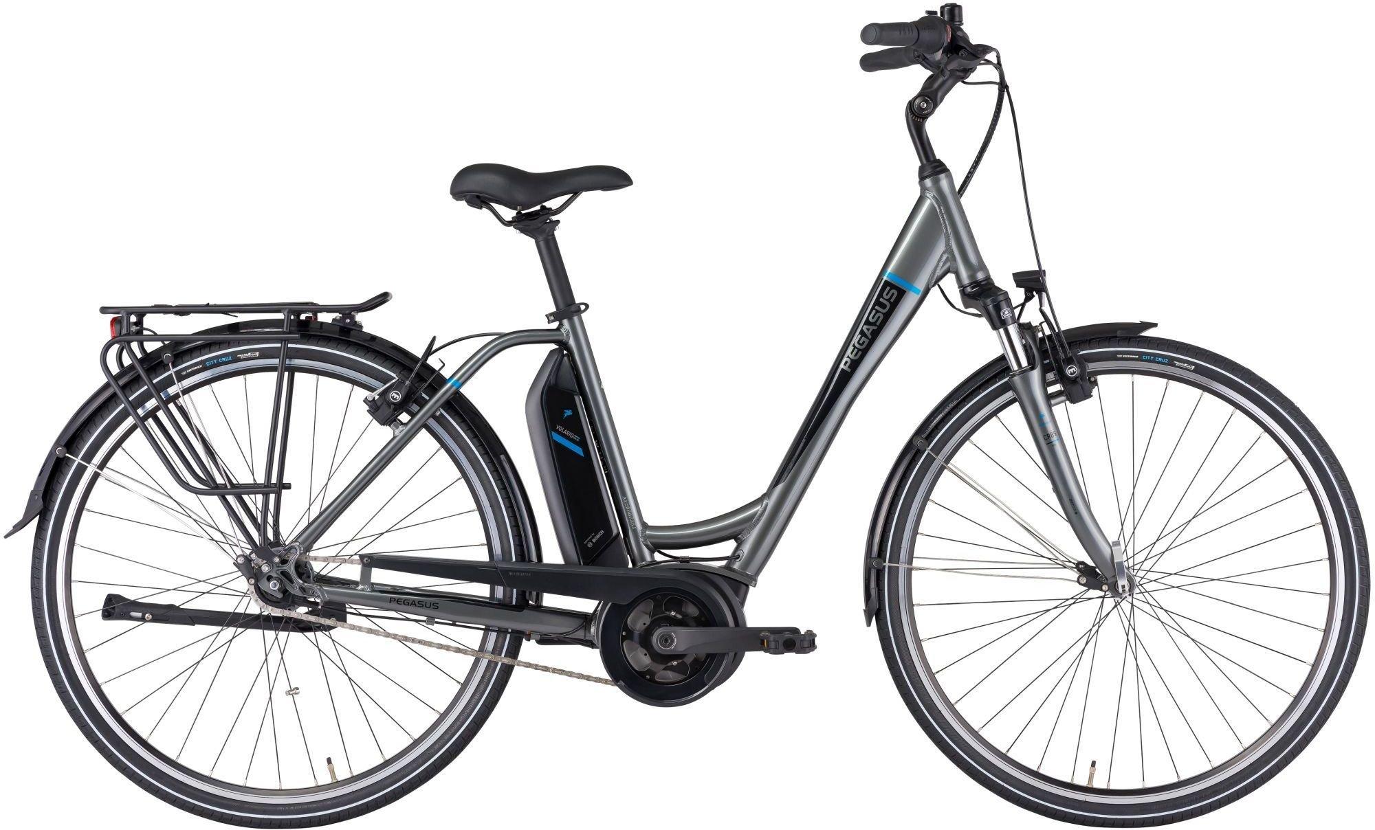 E-Bikes: Pegasus  Ancura E7R HS (400 Wh) 7 Gang Nabenschaltung Damenfahrrad Wave Modell 2021 28 Zoll 54 cm