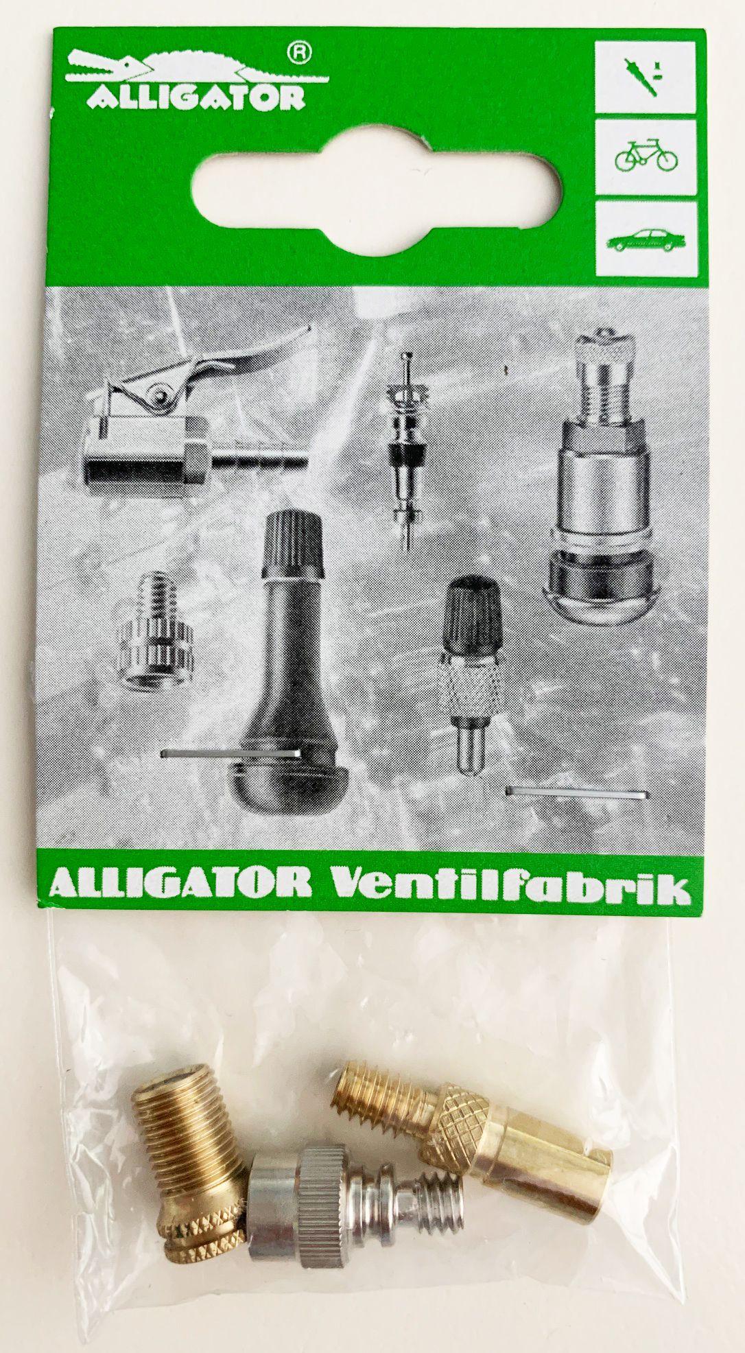 Alligator Ventil-Set Adapter 2