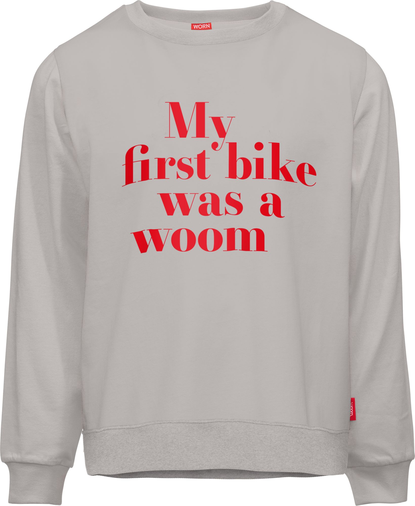 bekleidung: WOOM  Sweater MY FIRST BIKE 100110