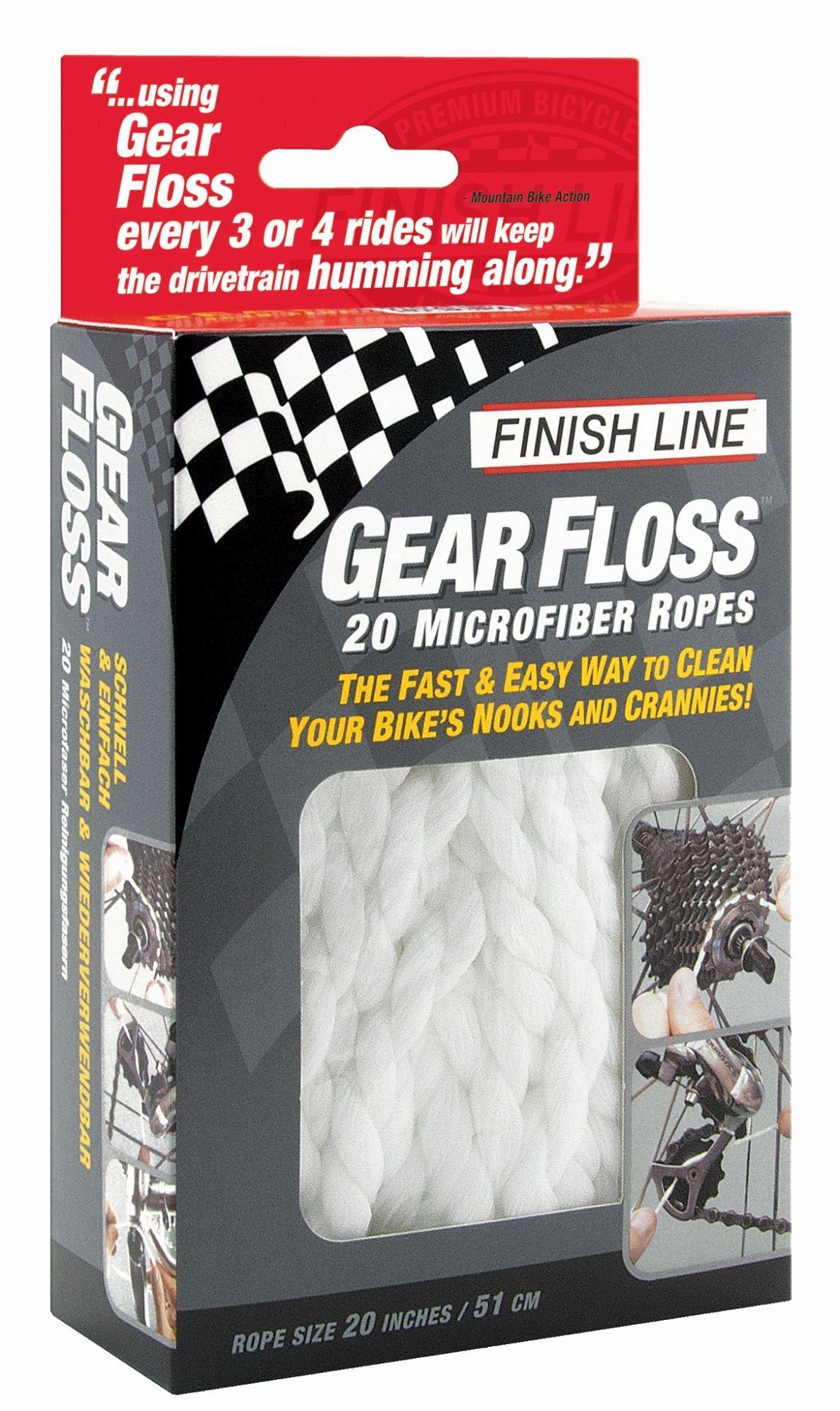 werkzeug & montage: FinishLine  Reinigungsfäden Gear Floss